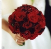 Свадебное фото - Красный свадебный букет_11