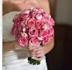 Свадебное фото - Розовый свадебный букет_12