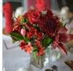 Свадебное фото - Красный свадебный букет_13