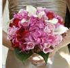 Свадебное фото - Розовый свадебный букет_13