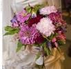 Свадебное фото - Розовый свадебный букет_14
