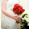 Свадебное фото - Красный свадебный букет_14
