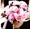 Свадебное фото - Розовый свадебный букет_15