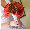 Свадебное фото - Красный свадебный букет_15