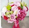 Свадебное фото - Розовый свадебный букет_16