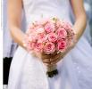 Свадебное фото - Розовый свадебный букет_17