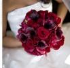 Свадебное фото - Красный свадебный букет_17