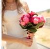 Свадебное фото - Розовый свадебный букет_18