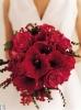 Свадебное фото - Красный свадебный букет_19