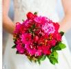 Свадебное фото - Розовый свадебный букет_19
