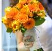 Фото - Желтый свадебный букет_23