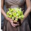 Фото - Свадебное фото - Зеленый свадебный букет_5
