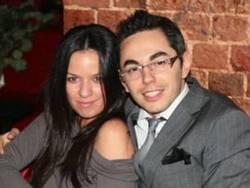 Тимур Родригес с женой Аней