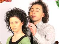 Видео уроки ухода за волосами. Как сделать кудри диффузором